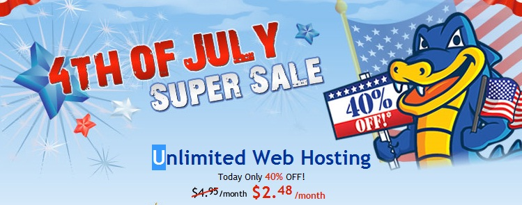 hostgator promotion